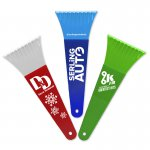 "9"" Ice Scraper with Digital Imprint - colors"