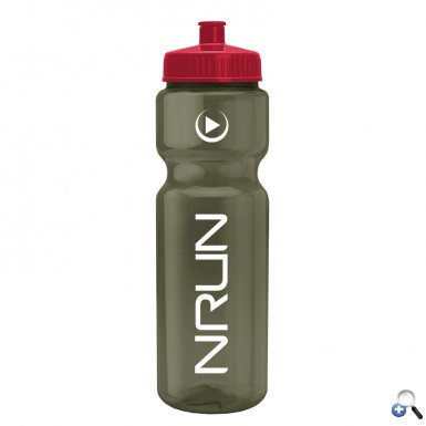 Champion - 28 oz. Transparent Color Bottle