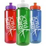 32 oz. Trans. Color Bottles - BPA-free