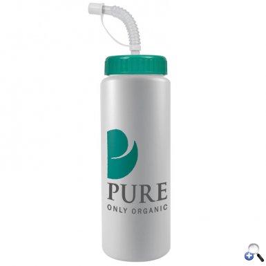 The Sports Quart - 32 oz Bottle (Straw Lid)