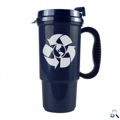The Commuter - 16 oz. Auto Mug-Recycled