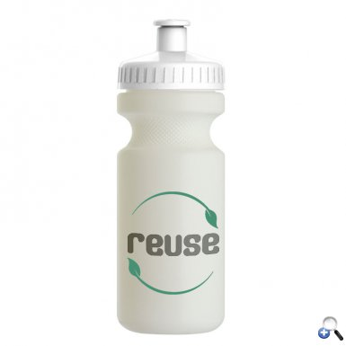 The Eco-Cyclist - 22 oz. Sports Bottle