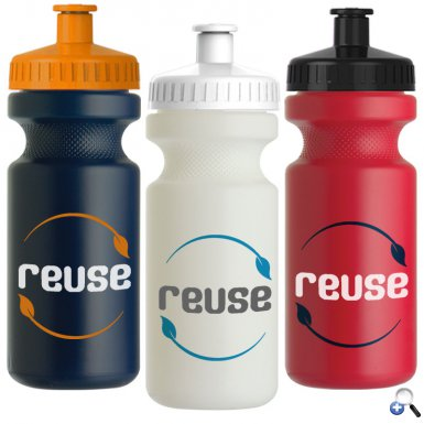 The Eco-Cyclist - 22 oz. Sports Bottle