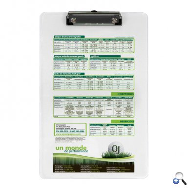 Low Profile Clipboard - Digital Print