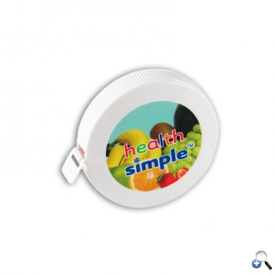 "2"" Round Tape Measure - 4c Digital Imprint"