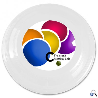 "9"" Flyer White - 4c Digital Imprint"