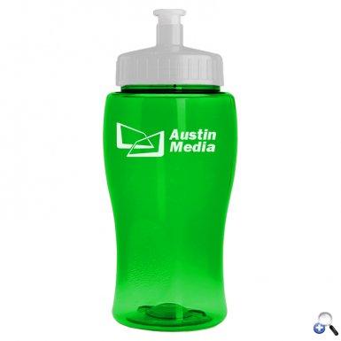 Poly-Pure Jr. 18 oz. Transparent Bottle