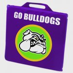 "14"" x 2"" Stadium Cushion - Phthalate-compliant"