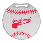 "13.5"" Round Stadium Cushion - Phthalate-compliant"