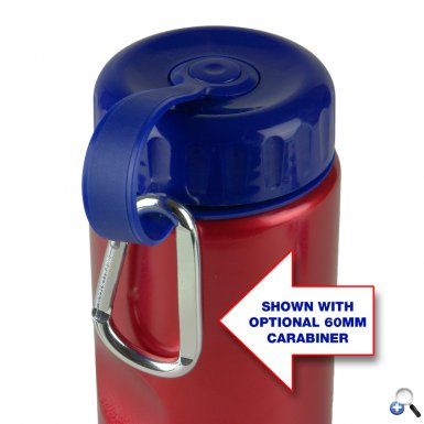 Mini Peak - 22 oz. Metalike Bottle -Tethered Lid