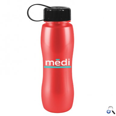 Slim Grip-M -25 oz. Metalike Bottle