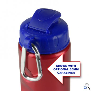 Mini Peak - 22 oz. Metalike Bottle -Flip Lid