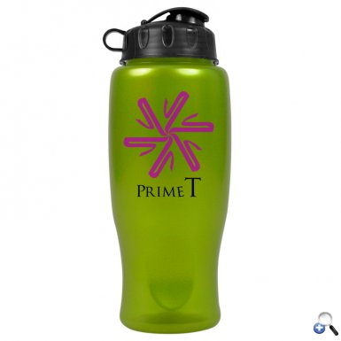 The Alloy - 27 oz. Metalike Bottle (Flip Lid)