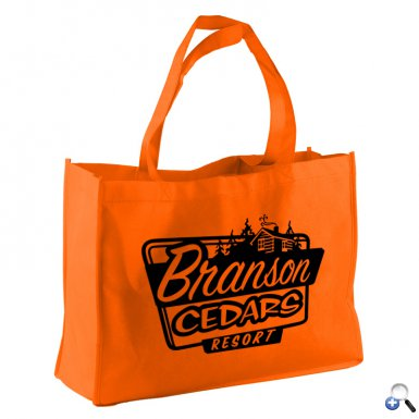 """The Carry-All - 16"""" Non-woven Tote"""