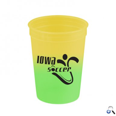 Cups-On-The-Go - 12 oz. Cool Color Changing Cup