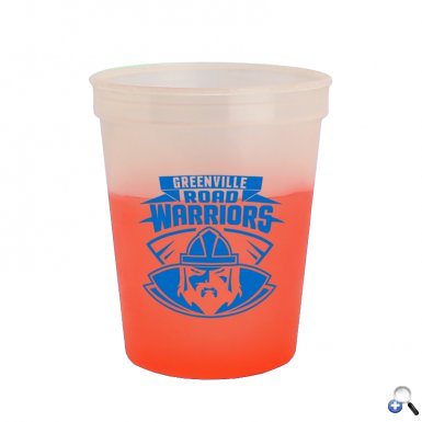 Cups-On-The-Go -16 oz. Cool Color Changing Cup