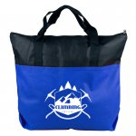 The Colleague - 2-Tone Non-Woven Zip Tote