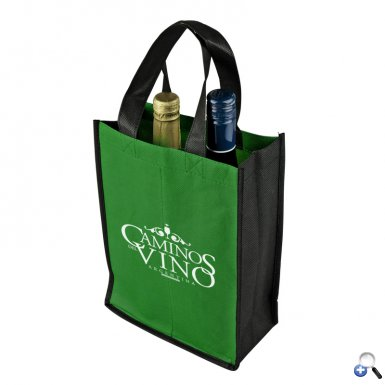 Duet - Two-Bottle Wine Tote