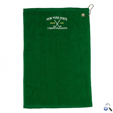 """18"""" Embroidered Golf Towel"""