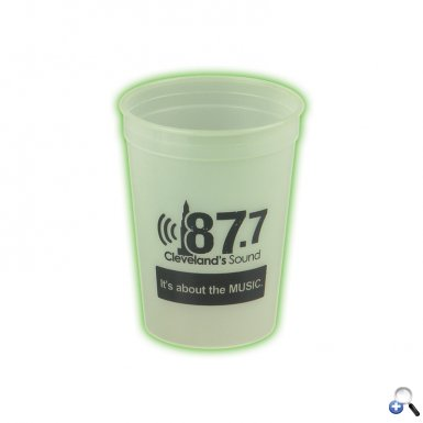 Glow In The Dark 12 oz. Stadium Cup