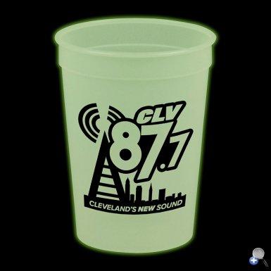 Glow In The Dark 12 oz. Stadium Cup