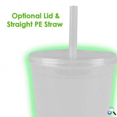 22 oz. Glow in the Dark Stadium Cup