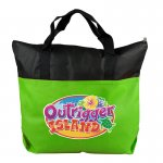 The Colleague - 2-Tone Non-Woven Zip Tote-DP