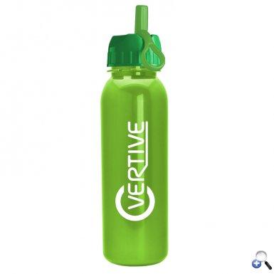 Terrain - 24 oz. Metalike Bottle -Flip Straw Lid
