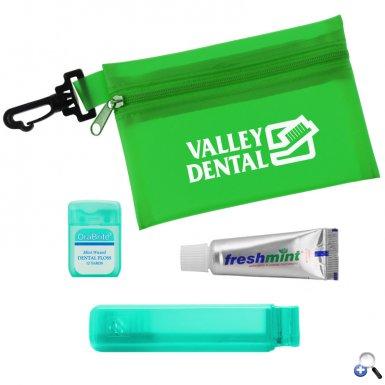 Translucent Zip Tote Travel Kit