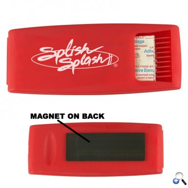 Bandage Dispenser w/ Magnet
