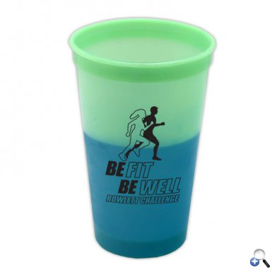 Cups-On-The-Go -20 oz. Cool Color Changing Cup