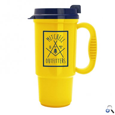 The Commuter - 16 oz. Auto Mug-Bright Colors