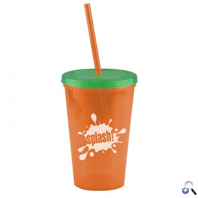 The Pioneer - 16 oz. Insulated Straw Tumbler