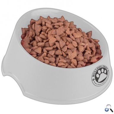 "Chow Time - 9"" Larger Dog Bowl"