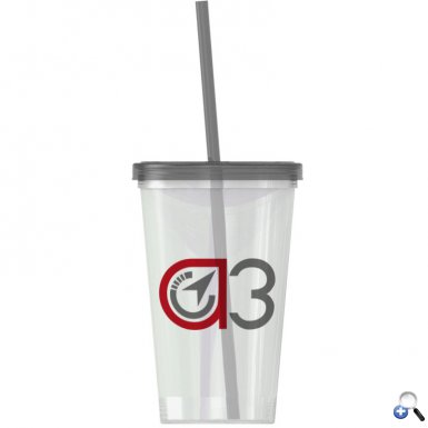 On-The-Go -20 oz. Straw Tumbler -Single-wall