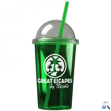 The Patriot - 20 oz. Travel Tumbler (Dome Lid)