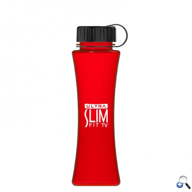 The Curve - 17 oz. Tritan Bottle -Tethered Lid