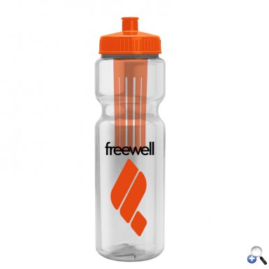Infuser 28- 28 oz. Infuser Bottle - Push-Pull Lid
