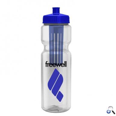 Infuser 28- 28 oz. Infuser Bottle - Push-Pull Lid