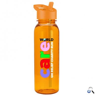 24oz Tritan Bottle Flip Straw Lid - Digital
