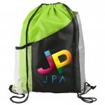 Trendsetter - Polycanvas Drawstring Backpack