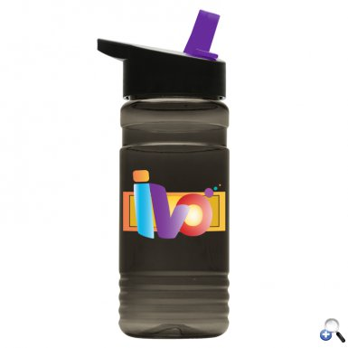 20 oz. Tritan Bottle - Flip Straw Lid - Digital
