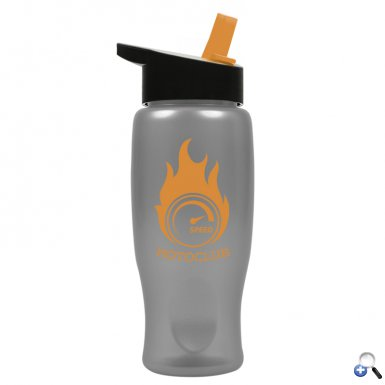 The Alloy - 27 oz. Metalike Bottle -Flip Straw H