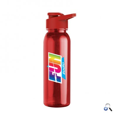 24oz Tritan Bottle withDrink Thru Lid - Digital