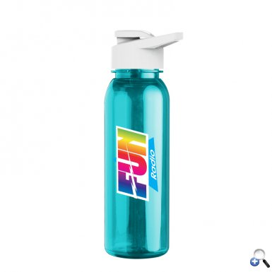 24oz Tritan Bottle withDrink Thru Lid - Digital