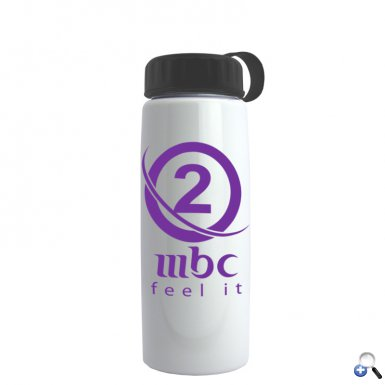 26 oz Metallic Flair Bottle - Tethered Lid