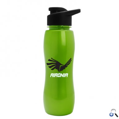 Slim Grip -25 oz. Metalike Bottle-Drink-Thru Lid