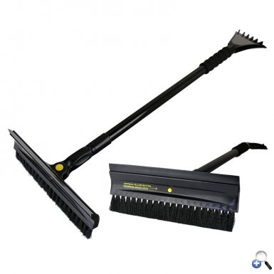 Extender Snow Brush with Swivel Head