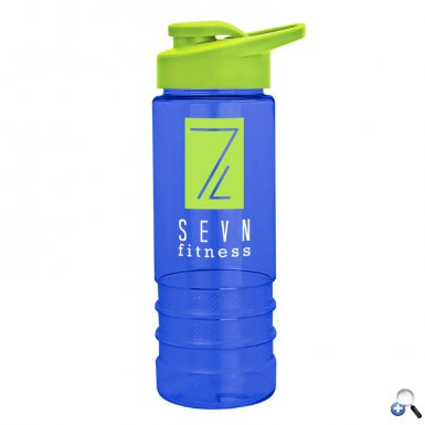 Salute2 - 24 oz. Tritan Bottle with Drink-Thru Lid