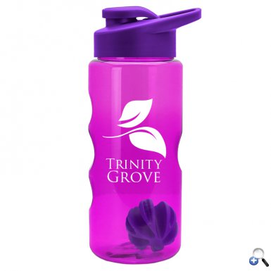 22 oz. Shaker Bottle - Drink-Thru Lid